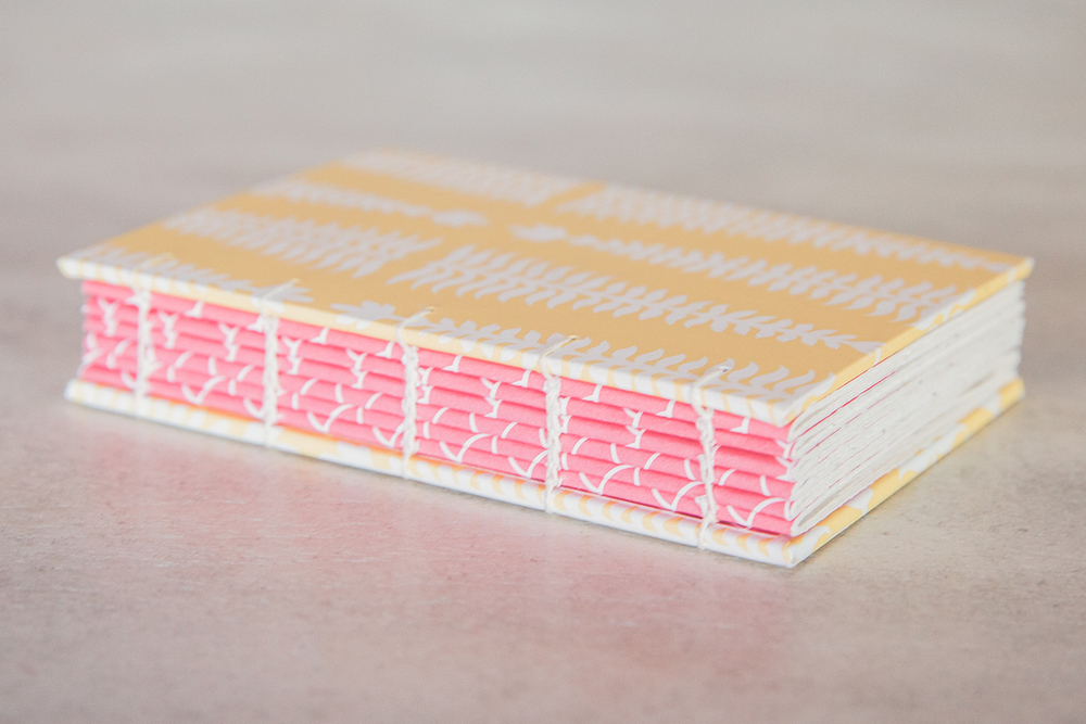 Handmade book by linenlaid&felt