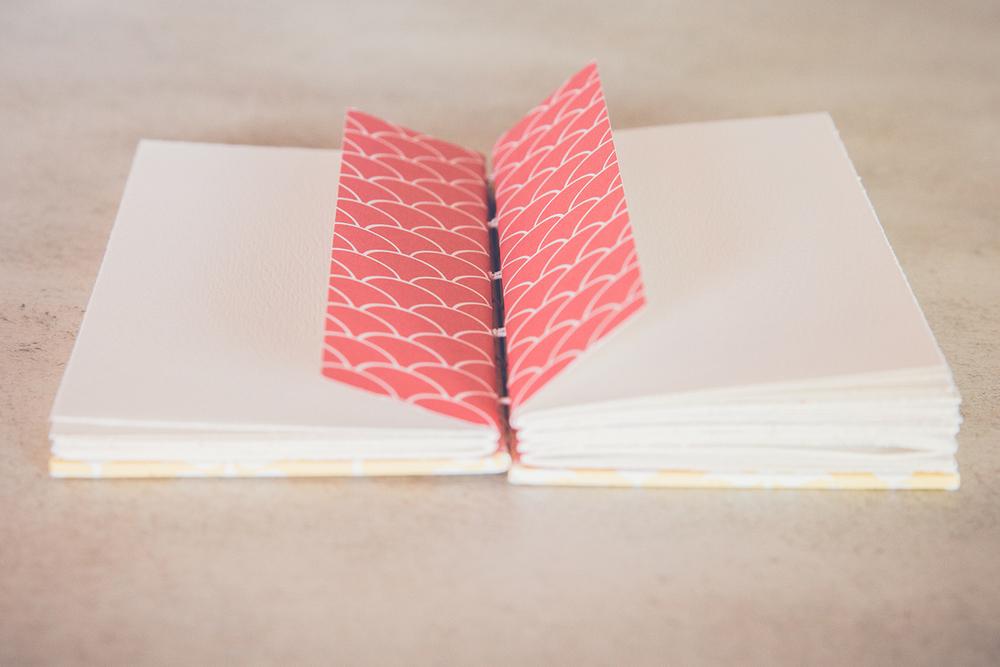 Handmade book by Katie Gonzalez