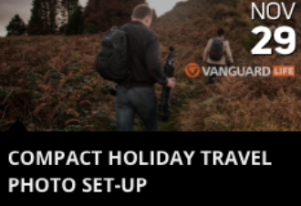 Compact Holiday Travel Photo Set-Up