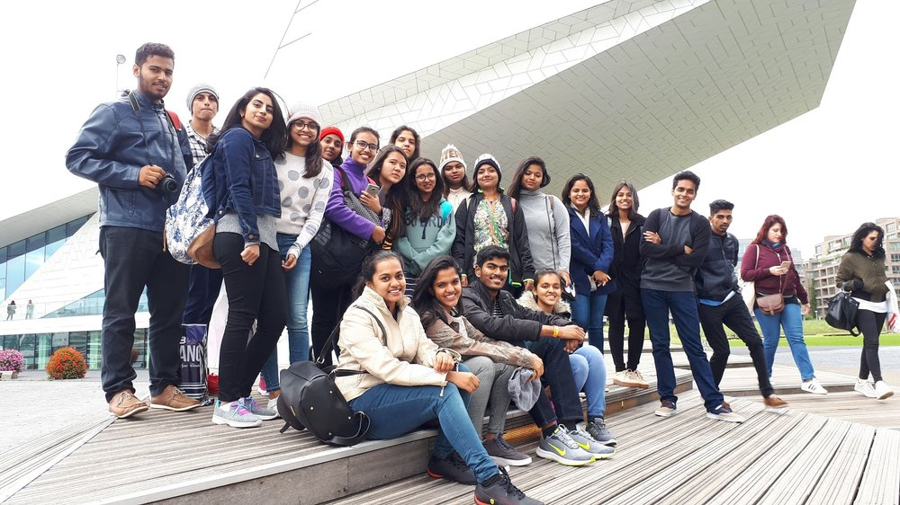 Students from Bangalore, India