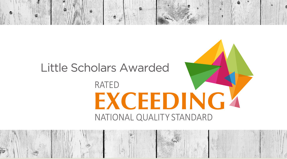Little Scholars Awarded rated exceeding national quality standards