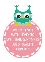 We partner with leading wellbeing, fitness and health experts.