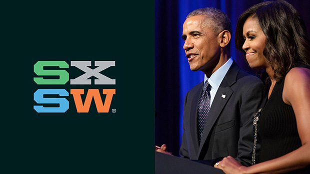 Michelle and Barack Obama will be speaking at this years SXSW in Austin Texas