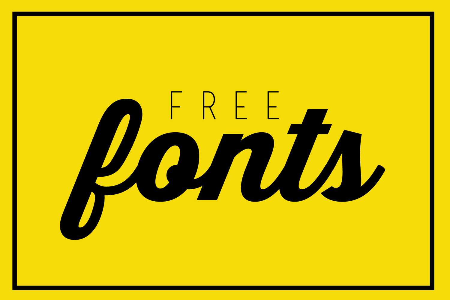Want to get free fonts? — Beard and Bible