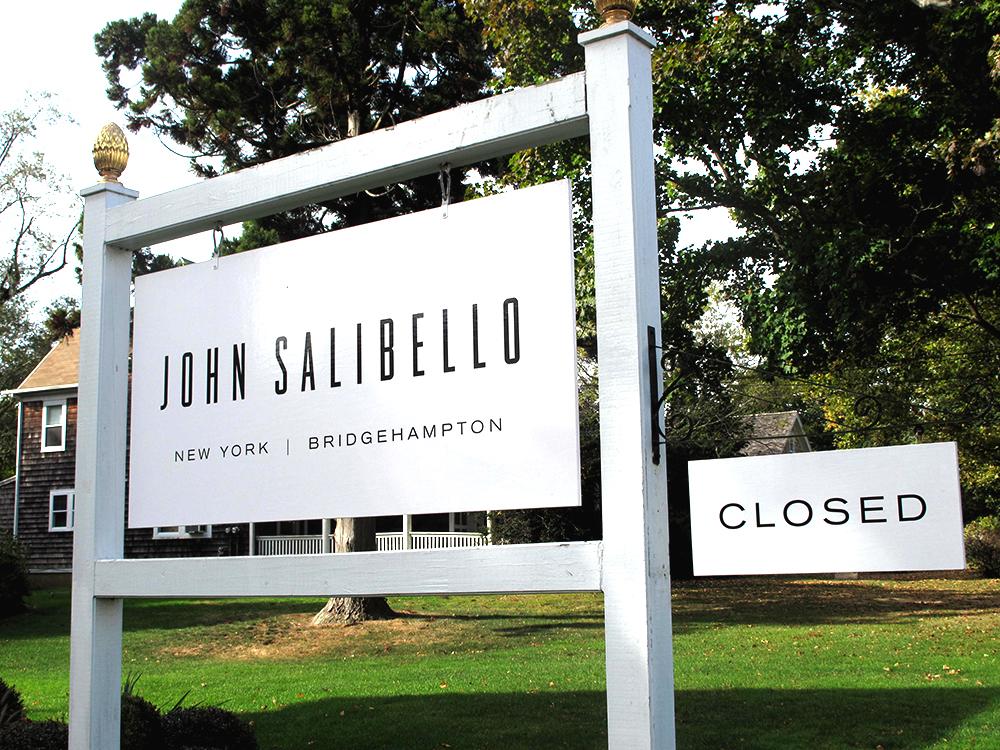 Captivating John Salibello Wood Signage