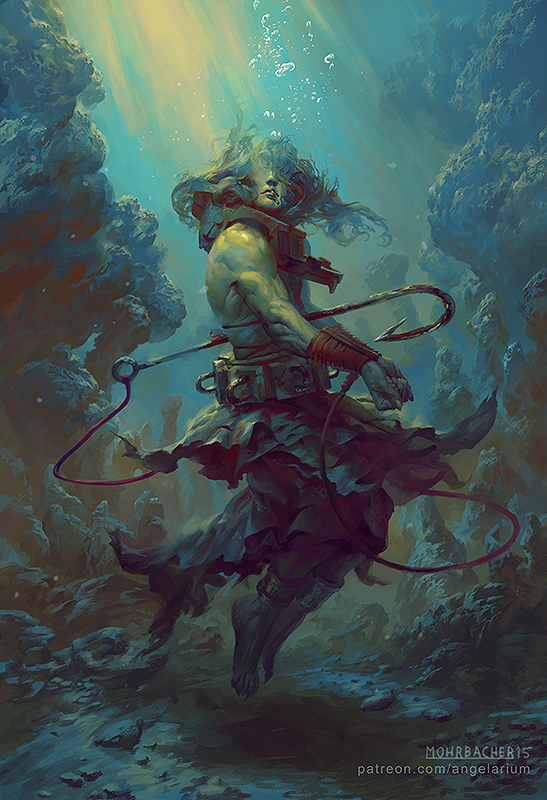 art by Peter Mohrbacher