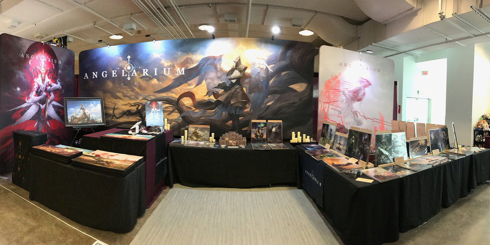 Biggest Angelarium booth to date!