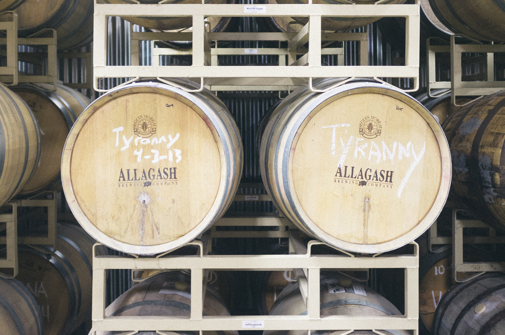 A stop at Allagash Brewery in Portland, Maine