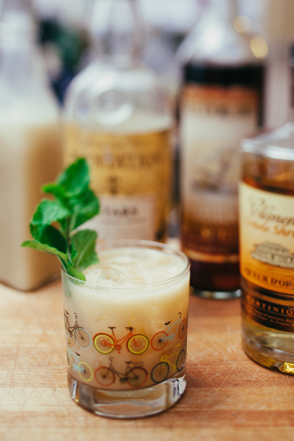 Classic Mai Tai with homemade orgeat
