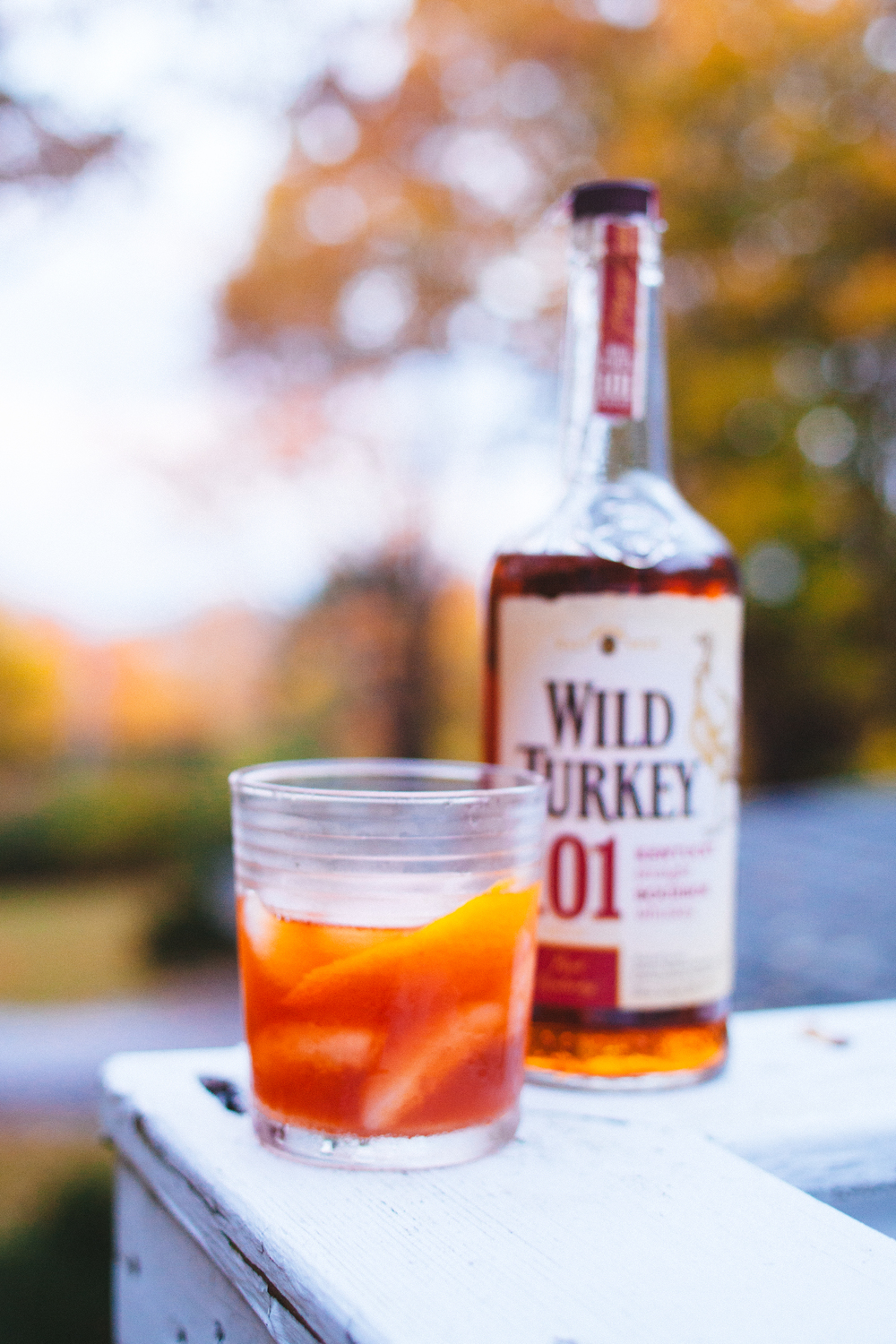 Maine maple old fashioned