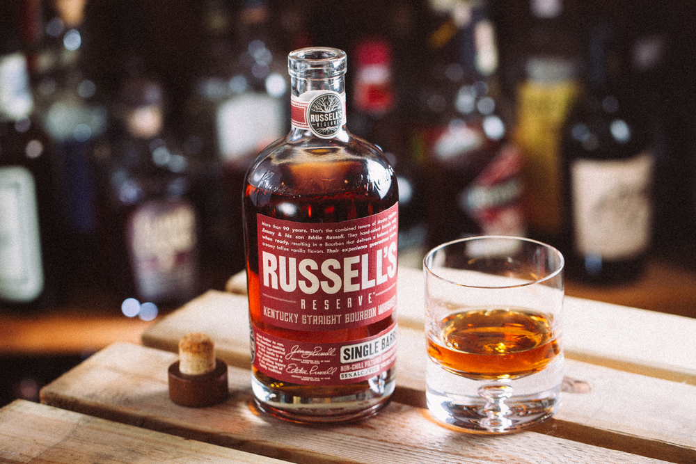 A killer bourbon from Russell's Reserve.