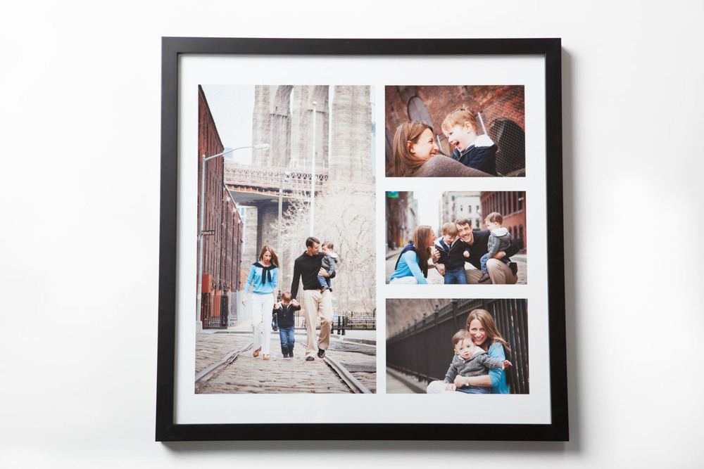 Storyboard print with custom frame
