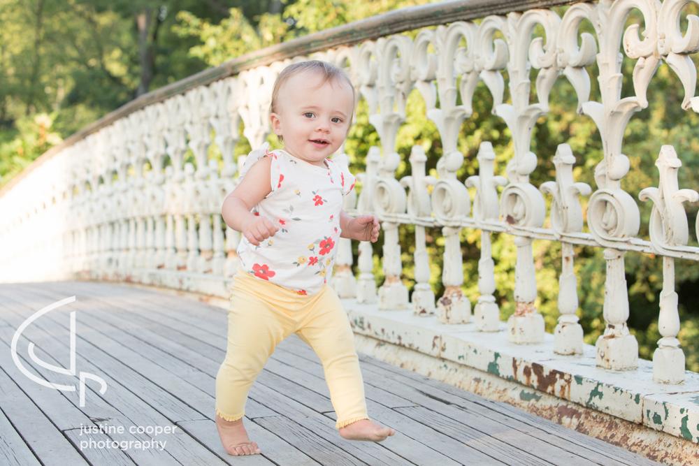 Central Park toddler