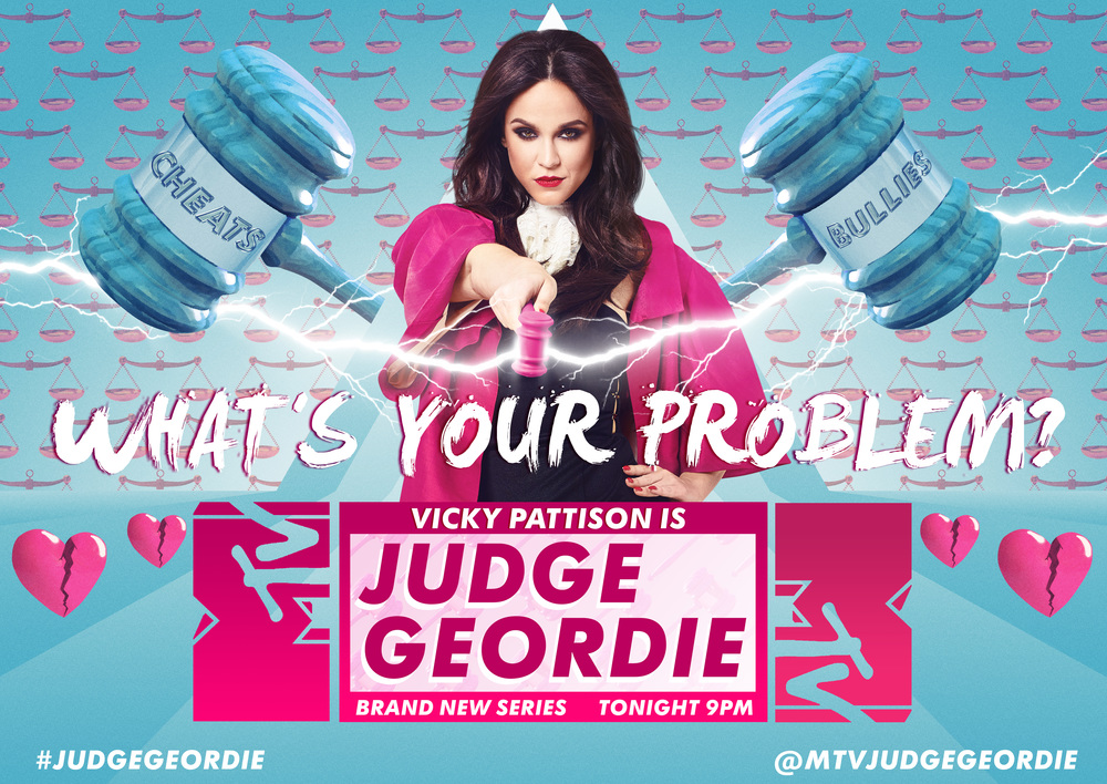 MTV Judge Geordie Key Art Campaign