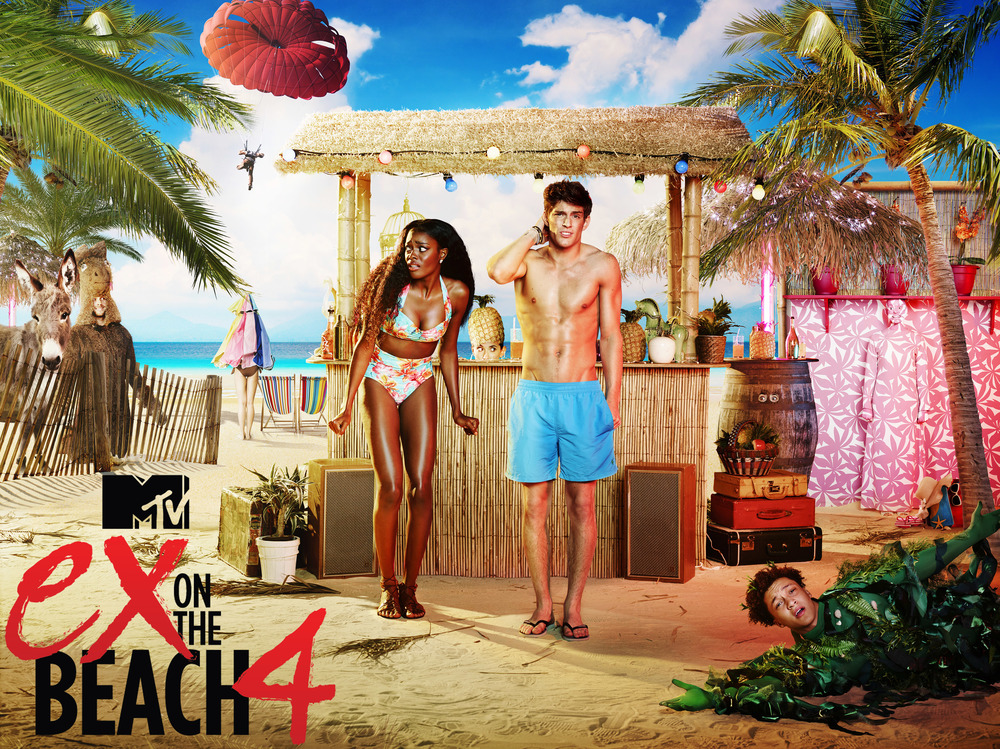 MTV Ex on the Beach Key Art Campaign