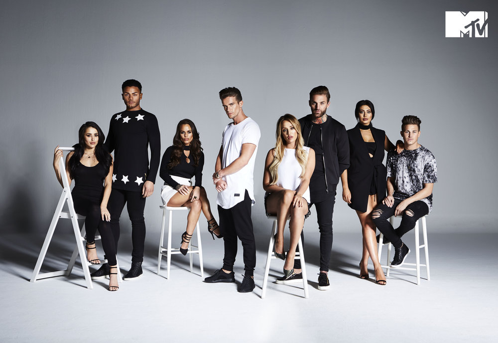 MTV Geordie Shore Promo Photography