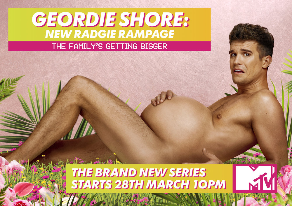 Geordie Shore Key Art Campaign - 'New Radgie Rampage'