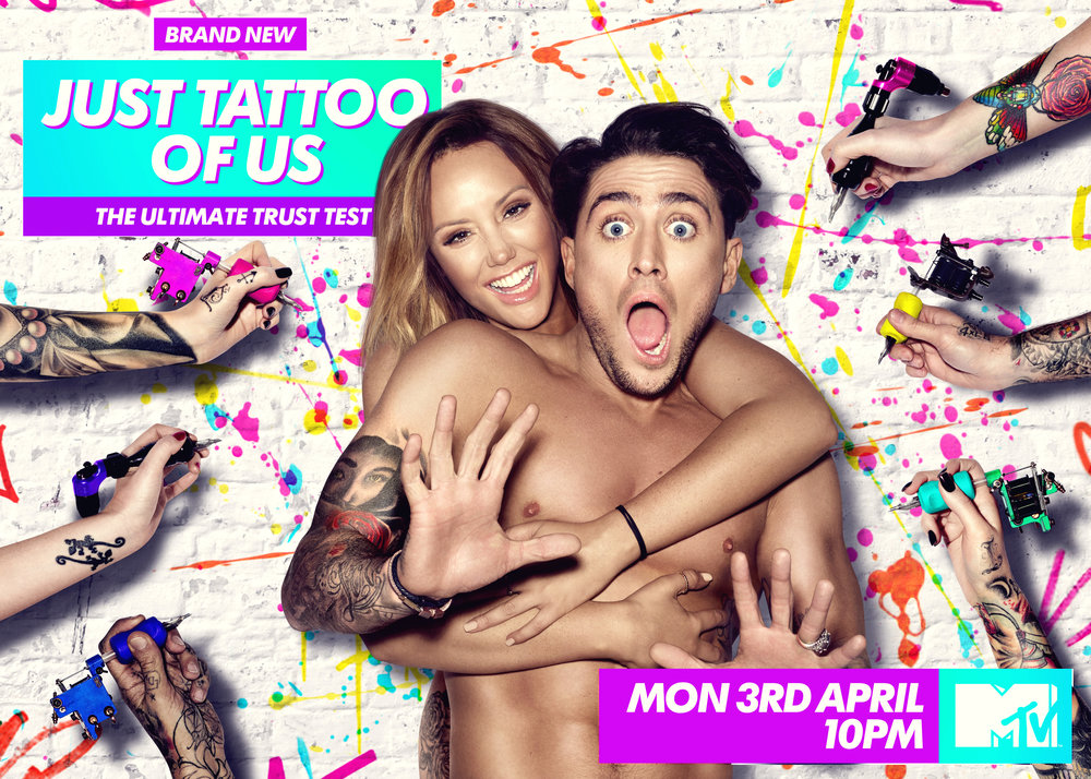 MTV Just Tattoo of Us Key Art Campaign