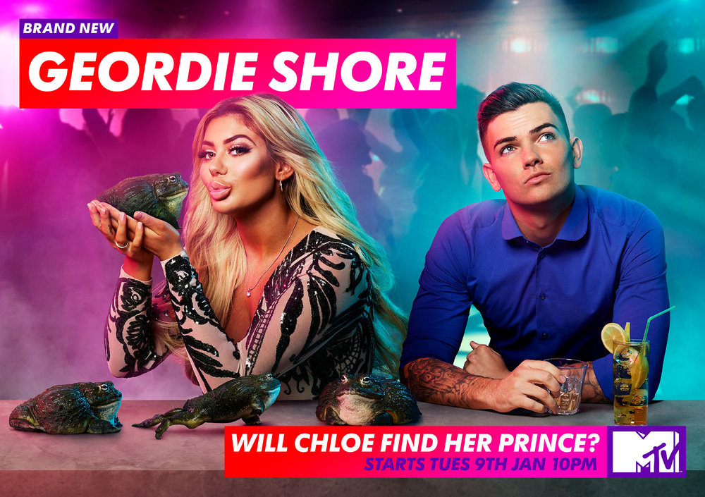Geordie Shore Key Art Campaign - 'Will Chloe find her Prince'