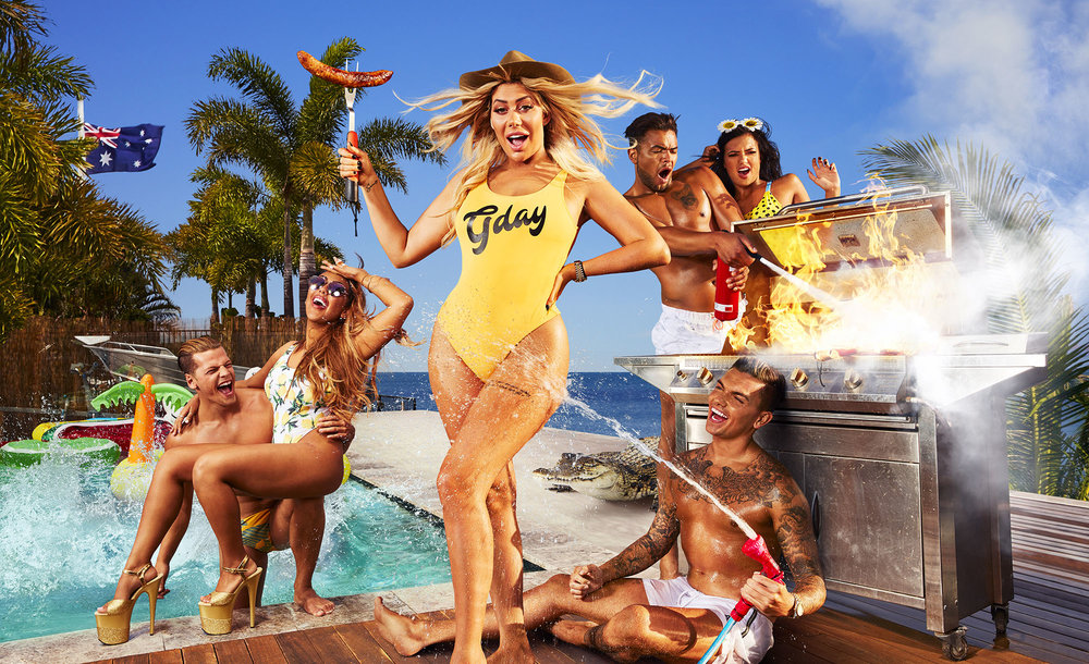 Geordie Shore Key Art Campaign