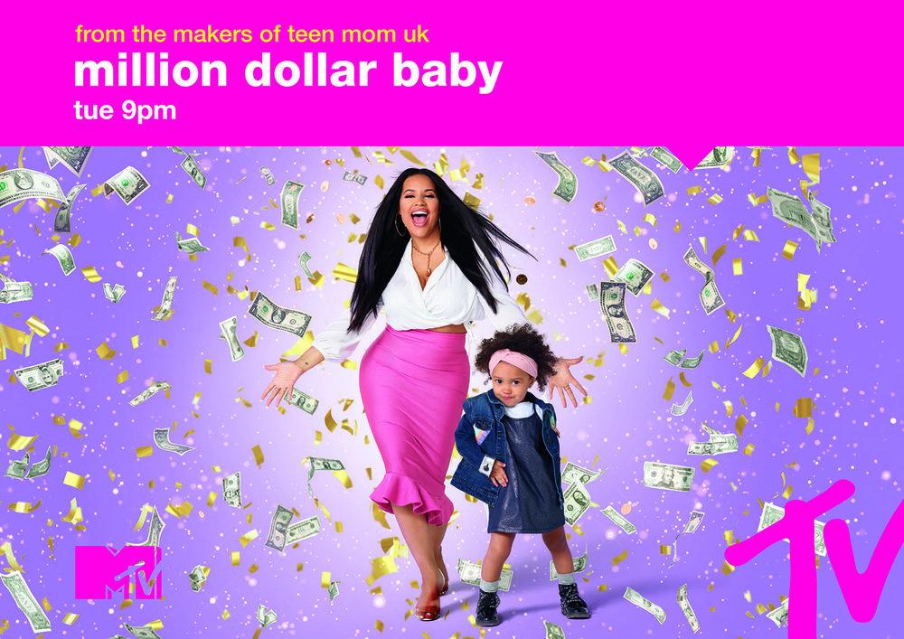 Million Dollar Baby Print Campaign