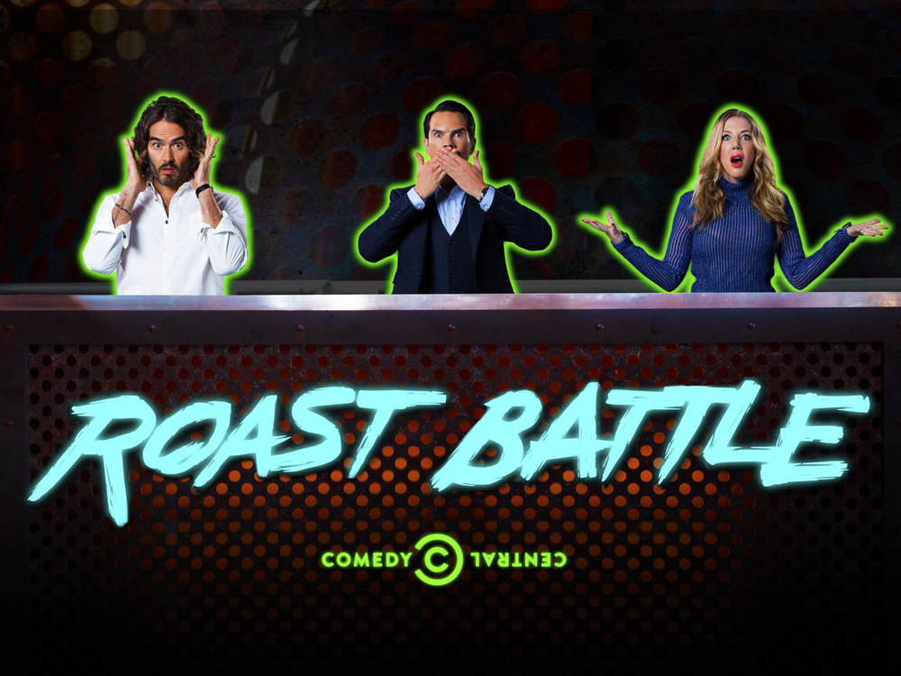 Comedy Central Roast Battle - Key Art + Stop Motion Animation