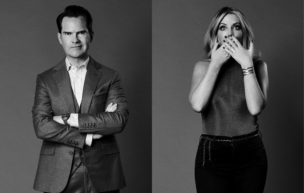 Jimmy Carr and Katherine Ryan