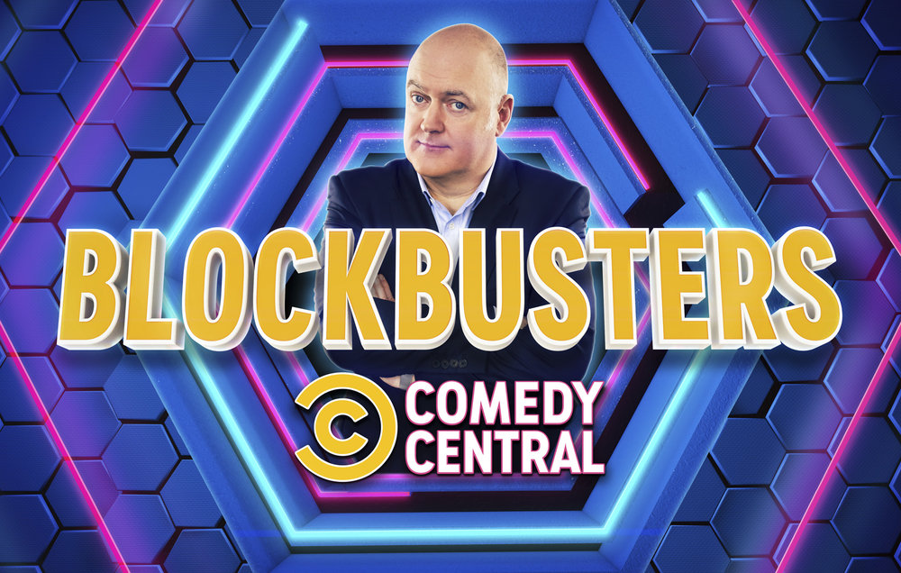 Comedy Central 'Blockbusters' - Key Art Campaign