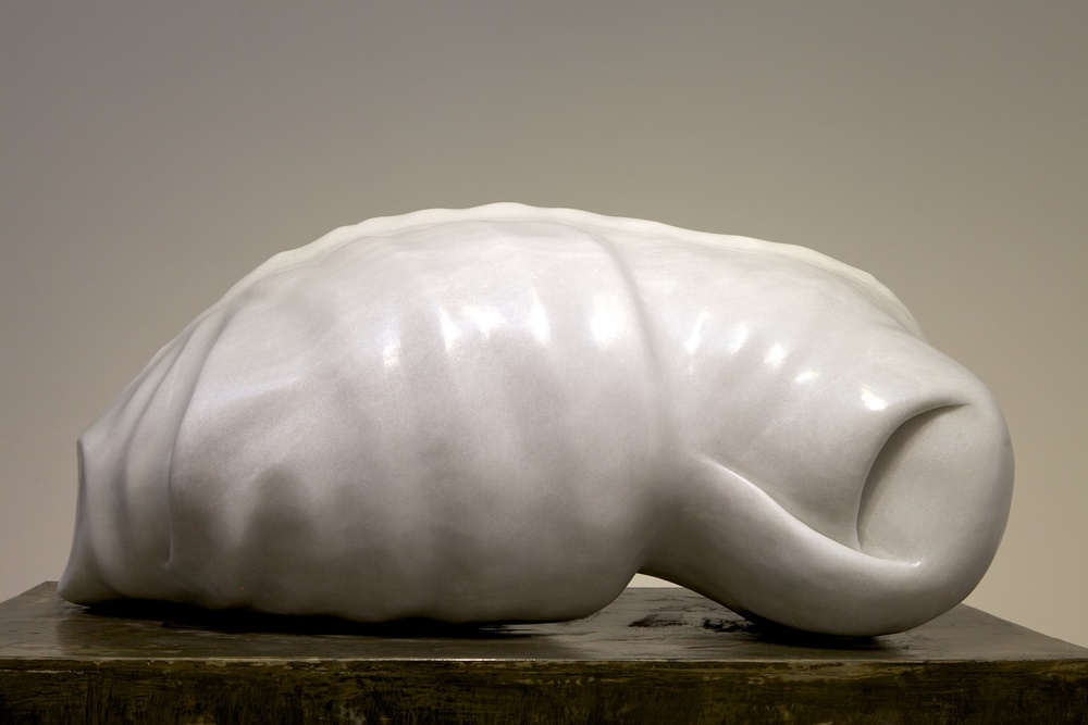 Life from death, from life I  Marble. 70 x 70 x 125cm. 2012