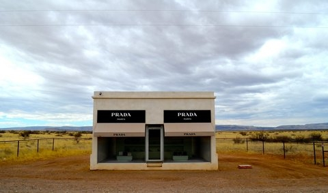 Marfa lights, galleries, shops, and great eats