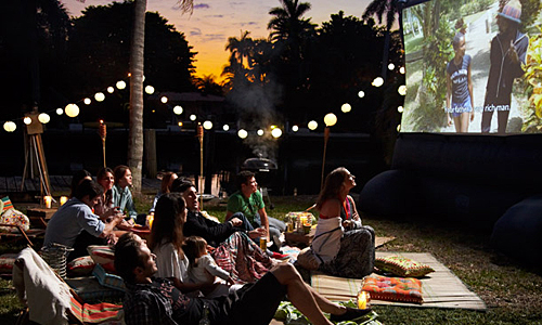 The night before each race, we host an outdoor film under the stars. It typically starts at 8/8:30 pm and is comprised of several short adventure films, lasting about an hour. Bring your dinner, chair/blanket, beer...and relax! Cornucopia (a local gourmet popcorn shop) provides the snacks!