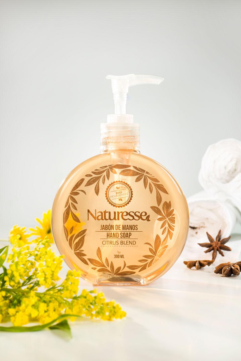 Jabón de manos líquido  | 300ml | Aroma  Citrus     Blend