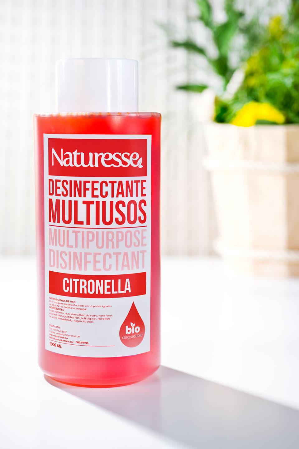 Desinfectante multiusos  | 1 L | Aroma  Citronella