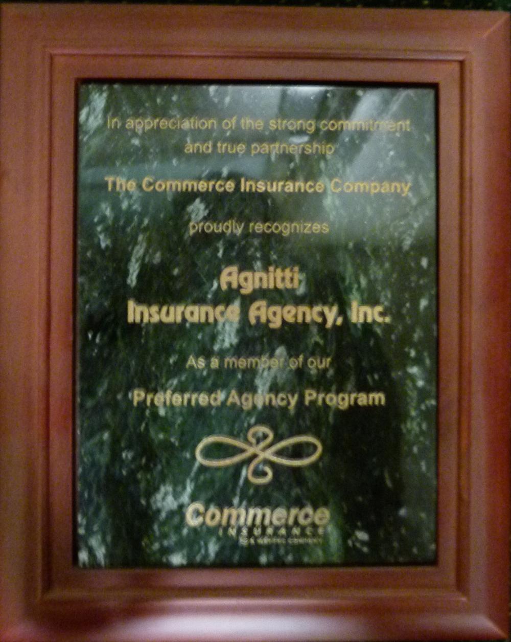 Agnitti-Insurance-Preferred-Agency-Program-Commerce