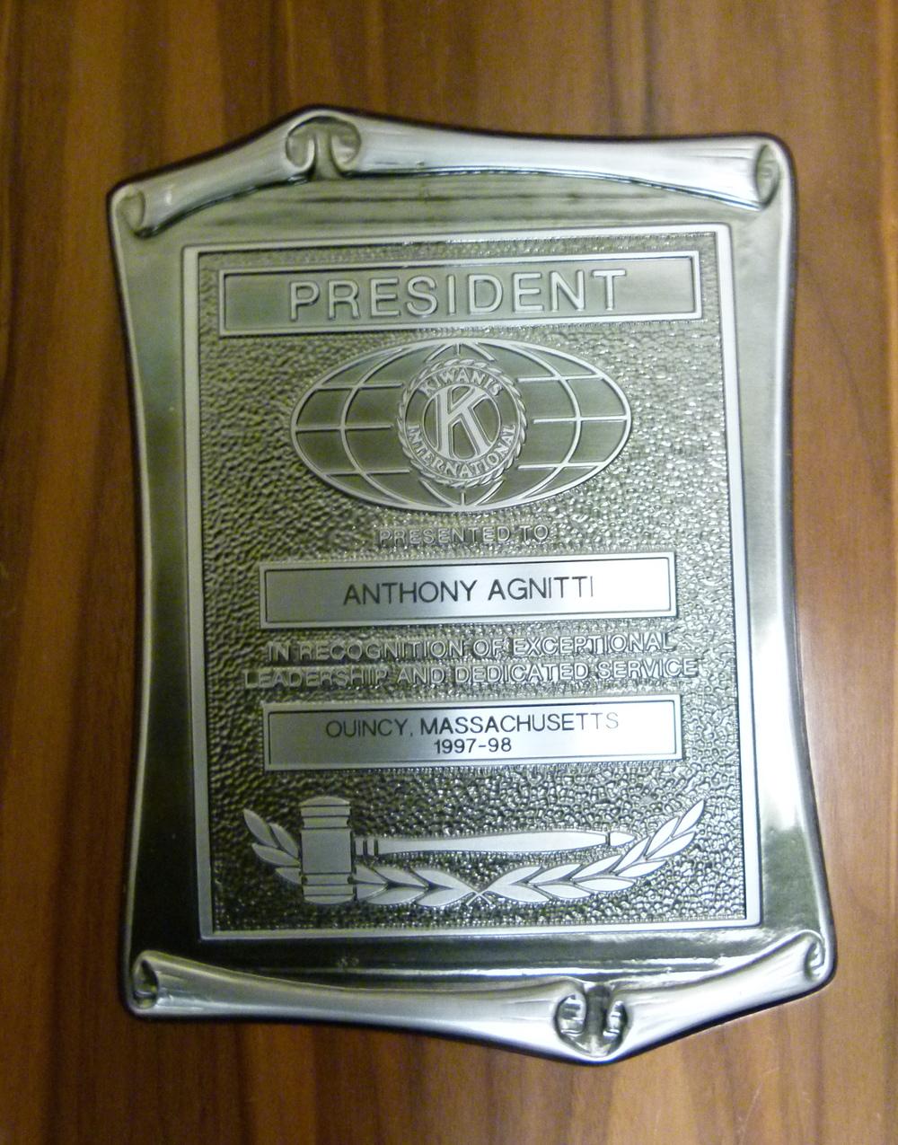 Anthony-Agnitti-president-exceptional-leadership-Kiwanis