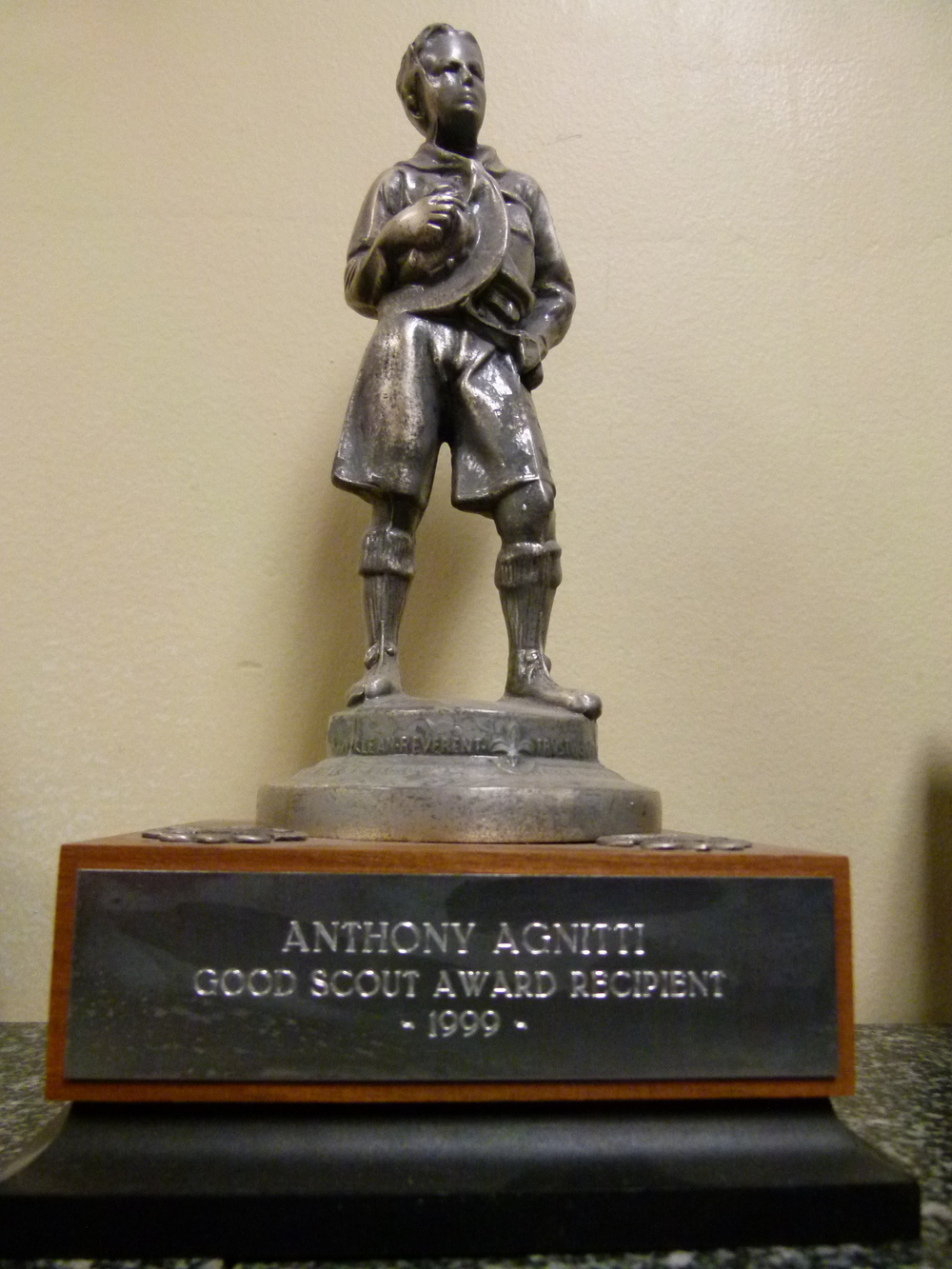 Anthony-Agnitti-Good-scout-award-recipient