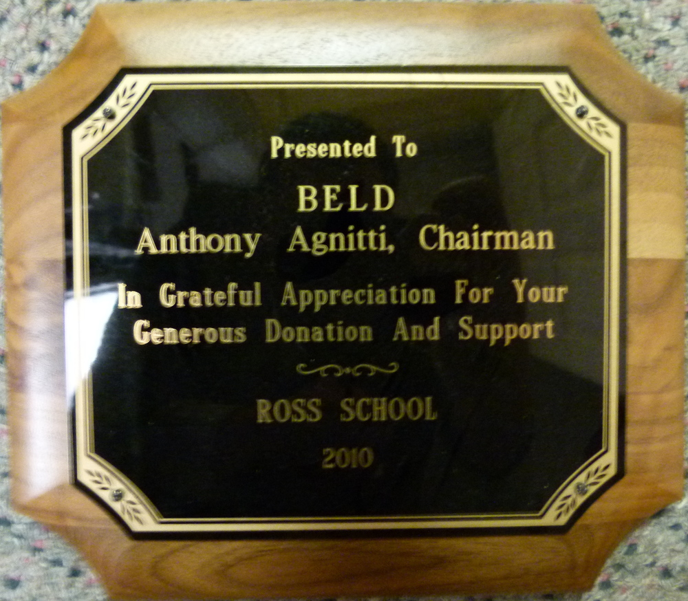 BELD-chairman-donation-ross-school-braintree