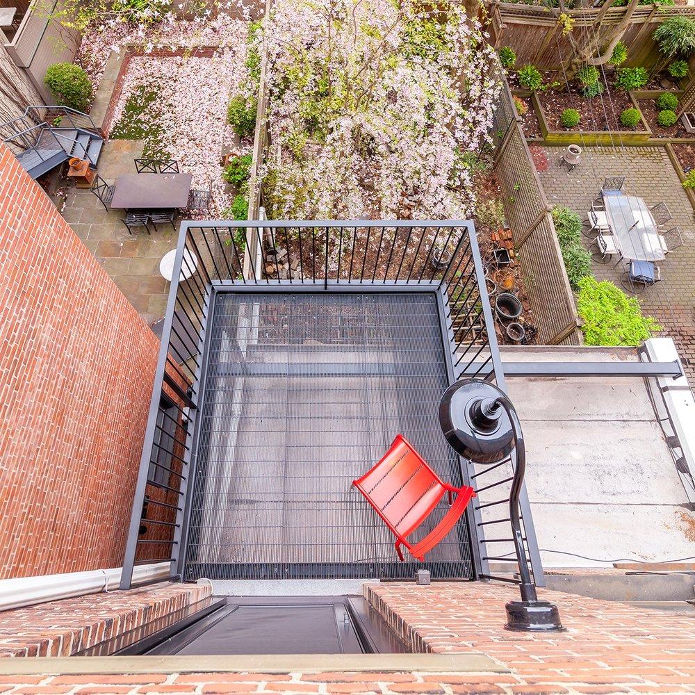 Historic District Balcony - Ed Kopel Architect