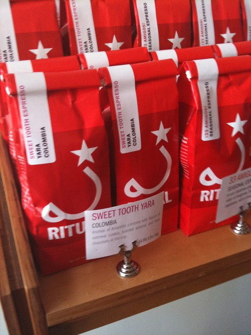 Sweet Tooth Yara Espresso : Yara Espresso blends at Ritual in San Francisco