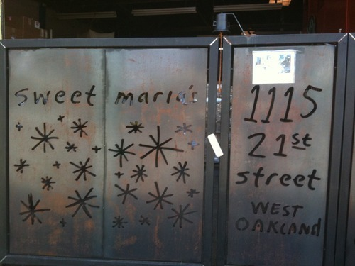 Sweet Maria's: You may have ordered something over the internet from Sweet Maria's but this is the front door to the place where all the magic happens.