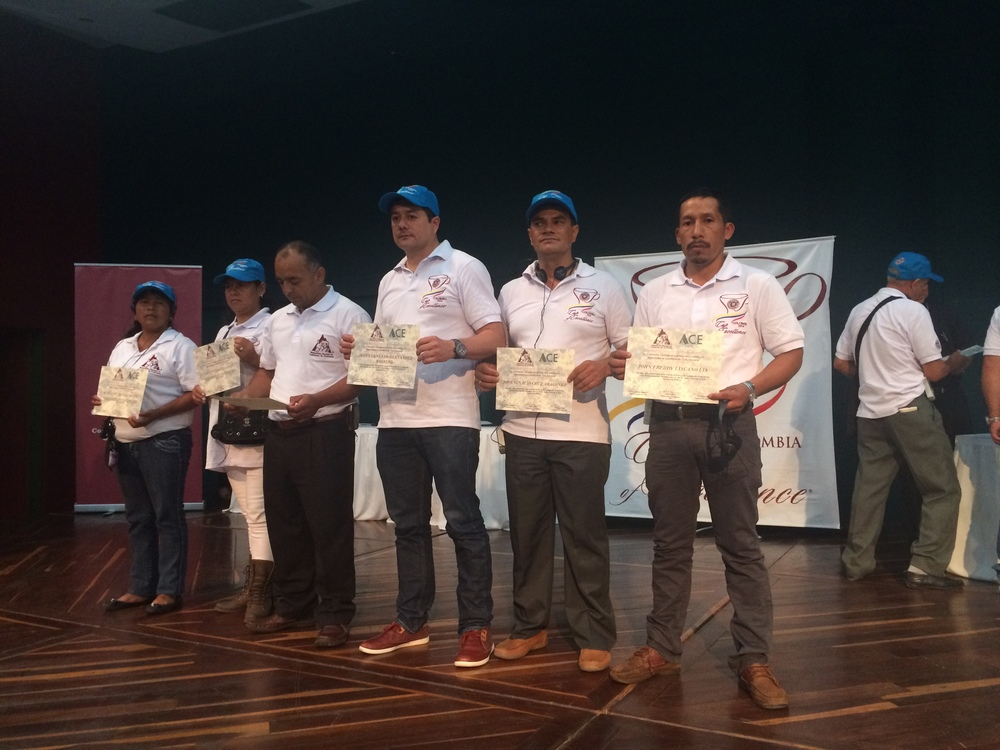 The top-6 Finalists of the 2014 Colombia CoE