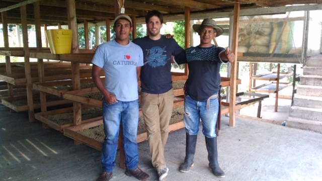Audenar Guzman, on the left with Sebastian from Phil and Sebastian and his brother Alirio Guzman