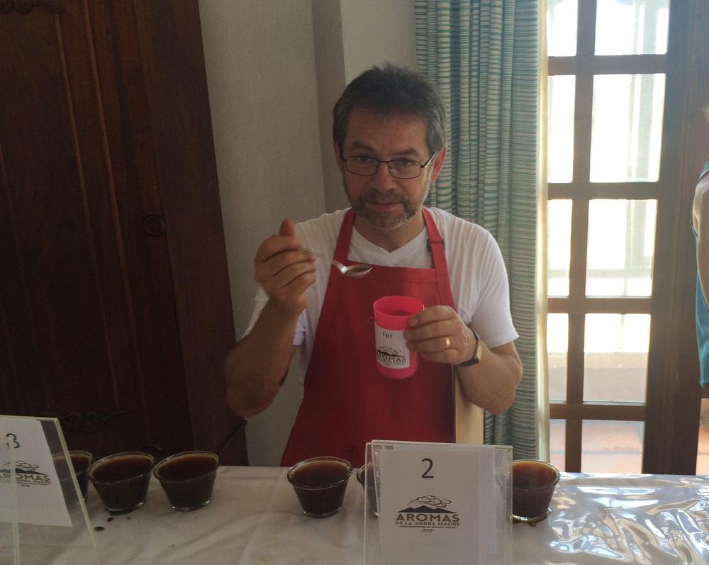 Fernando Gomez, Virmax Colombia Director of Quality, who was in charge of the quaity control and execution of the cupping.