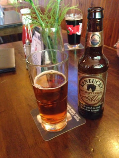 Majestic and smooth...Kentucky Bourbon Ale
