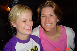 Amy Poehler and I in 2006.