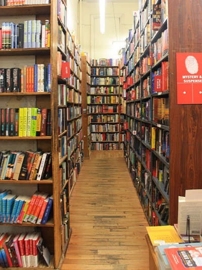 Miles and miles of books...    Photo courtesy of Strand Book Store