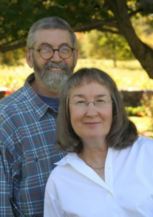 Patricia T. O'Conner and her husband Stewart Kellerman