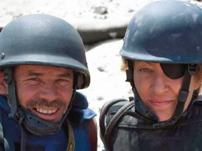 Marie Colvin, we honor your badass writing skills. RIP.