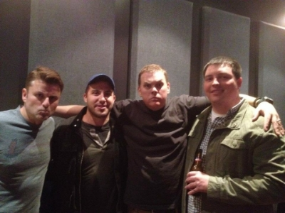 Steve Lemme, Daniel Ford, Kevin Heffernan, and Sean Tuohy