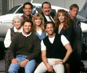 "The cast of ""Wings"""